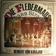 LP - Johann Strauss Jr. - Die Fledermaus - Operettenquerschnitt (Karajan)