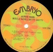 LP - Herbie Mann - Muscle Shoals Nitty Gritty