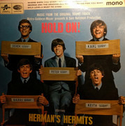 7inch Vinyl Single - Herman's Hermits - Hold On! - 4-prong centre