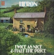 Double LP - Heron - Twice As Nice & Half The Price - Original UK