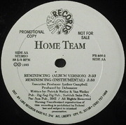 12'' - Home Team - Back To The Bronx / Reminiscing