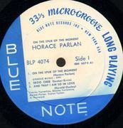 LP - Horace Parlan Quintet - On The Spur Of The Moment - Mono
