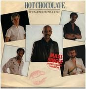 12inch Vinyl Single - Hot Chocolate - It Started With A Kiss