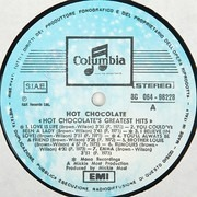 LP - Hot Chocolate - XIV Greatest Hits
