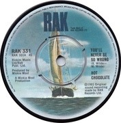 7'' - Hot Chocolate - You'll Never Be So Wrong