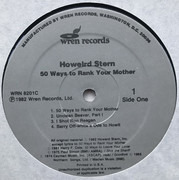 LP - Howard Stern - 50 Ways To Rank Your Mother