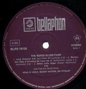 LP - Howlin' Wolf , Muddy Waters & Bo Diddley - The Super Super Blues Band - Eary German Pressing