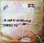 LP - Humble Pie - As Safe As Yesterday Is - Australia