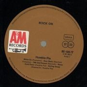 LP - Humble Pie - Rock On - Original 1st German
