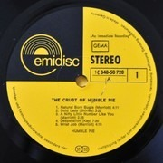 LP - Humble Pie - The Crust Of Humble Pie