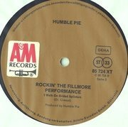 Double LP - Humble Pie - Performance: Rockin' The Fillmore
