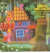 LP - Humperdinck/ H. Wallberg,Kölner Kinderchor. B. Lindner, H.Prey, E. Moder a.o. - Hänsel und Gretel - Quadrophonie , booklet