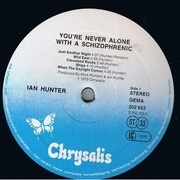 LP - Ian Hunter - You're Never Alone With A Schizophrenic