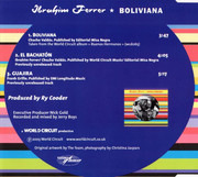 CD Single - Ibrahim Ferrer - Boliviana