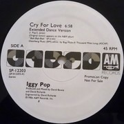 12'' - Iggy Pop - Cry For Love