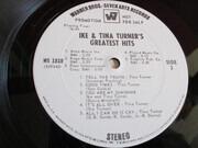 LP - Ike & Tina Turner - Greatest Hits - Promo