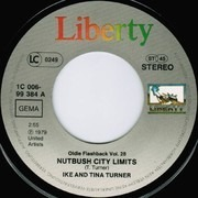 7inch Vinyl Single - Ike & Tina Turner - Nutbush City Limits