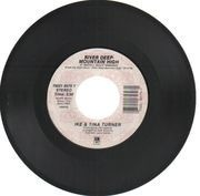 7inch Vinyl Single - Ike & Tina Turner - River Deep - Mountain High