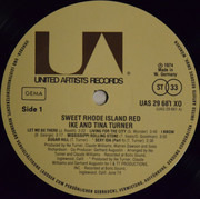 LP - Ike & Tina Turner - Sweet Rhode Island Red
