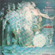 Double LP - Ike and Tina Turner - Live In Paris