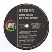 LP - Ike And Tina Turner - Outta Season
