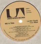 LP - Ike & Tina Turner - Let Me Touch Your Mind - Folding Cover