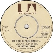 7'' - Ike & Tina Turner - Sweet Rhode Island Red