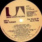Double LP - Ike & Tina Turner - The World Of Ike & Tina