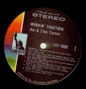 LP - Ike & Tina Turner - Workin' Together