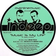 12inch Vinyl Single - Indeep - Music Is My Life