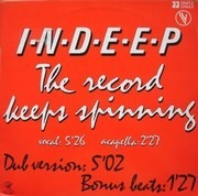12'' - Indeep - The Record Keeps Spinning