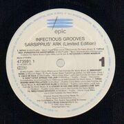 LP - Infectious Grooves - Sarsippius' Ark - Original 1st European