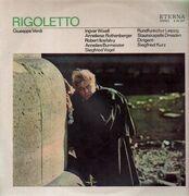 LP - Ingvar Wixell , Siegfried Kurz , Anneliese Rothenberger , Ilosfalvy Róbert , Annelies Burmeister , - Rigoletto - Opernquerschnitt