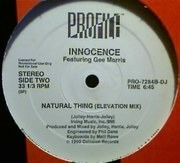 12'' - Innocence - Natural Thing - Promo
