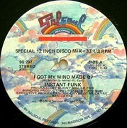 12'' - Instant Funk - I Got My Mind Made Up