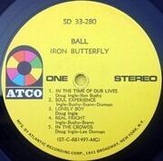 LP - Iron Butterfly - Ball - MG; Gatefold