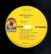 LP - Iron Butterfly - Heavy