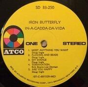 LP - Iron Butterfly - In-A-Gadda-Da-Vida - MGM Custom Pressing