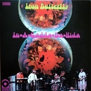 LP - Iron Butterfly - In-A-Gadda-Da-Vida - Yellow Vinyl