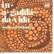 7inch Vinyl Single - Iron Butterfly - In-A-Gadda-Da-Vida - Original Mexican EP