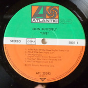 LP - Iron Butterfly - Live