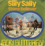 7inch Vinyl Single - Iron Butterfly - Silly Sally
