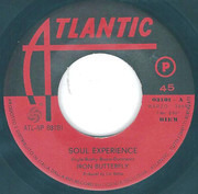 7inch Vinyl Single - Iron Butterfly - Soul Experience / In The Crowds