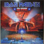 Double LP - Iron Maiden - En Vivo - RECORDED LIVE IN SANTIAGO APRIL 10TH, 2011