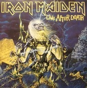 Double LP - Iron Maiden - Live After Death - inkl booklet