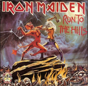 2 x 12inch Vinyl Single - Iron Maiden - Run To The Hills · The Number Of The Beast - Limited Edition Gatefold