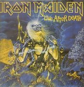 Double LP - Iron Maiden - Live After Death - WITH BOOKLET