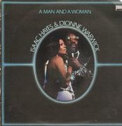 Double LP - Isaac Hayes & Dionne Warwick - A Man And A Woman - die-cut