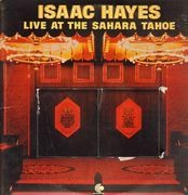 Double LP - Isaac Hayes - Live At The Sahara Tahoe - gimmick cover