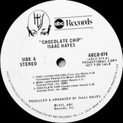 LP - Isaac Hayes - Chocolate Chip - White label Promo